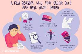 If you get denied for a credit card, challenge the denial first. Possible Reasons A Credit Card Application Was Denied