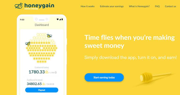 Review honeygain:menghasilkan uang tanpa misi apapun