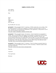 Letter Uk Cover Letter Address Format Uk Example Sample Basic For