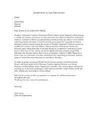 New Police Officer Cover Letter Sample 65 For Your Sample Cover