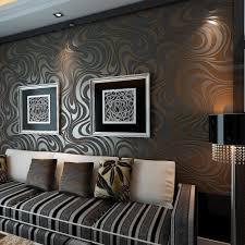 Modern Wallpaper For Living Room 7 Ideas For Using Wallpaper In The House Mybktouchcom