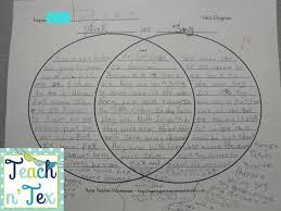 Venn Diagram Civil War Teach N Tex Mentor Text S Social Studies Civil War