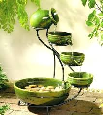 outdoor decorative water fountains