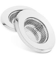 Sf Planet Kitchen Sink Strainer 2pcs Fosmon Stainless Steel