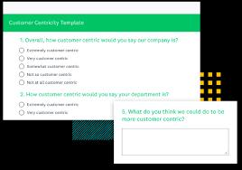Customer Centricity Survey Template Surveymonkey