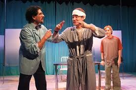 los angeles theater review flowers for algernon deaf west  charles katz daniel n durant sean eaton