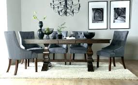 oak round dining table for 8 oak extending dining table and 8 chairs full image for