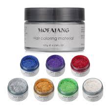 Colourful Hair Wax Temporary Hair Dye