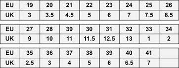 Geox Size Chart Toddler Shoe Size Chart Eu Shoe Size To Uk Childrens Shoe Size