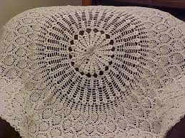 Free Crochet Round Tablecloth Patterns