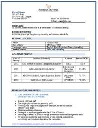 sample modern resume Interesting Mba Marketing Fresher Resume Sample 97 For  Your Modern .