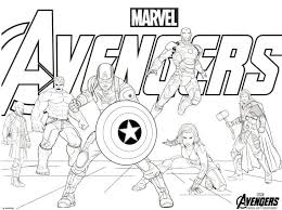 Avengers Coloring Pages Free 1 Infinity War Pdf Handidinfo