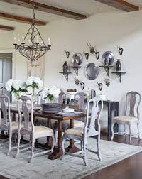 Dark dining room furniture Traditional Dining Room Western Chic Room Chairs Table And Chairs Dining Chairs Dining Pinterest 43 Best Dark Table Light Chairs Images Kitchen Dining Dining