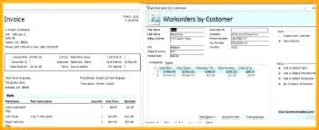 ms invoice access invoice template