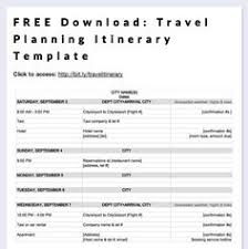 225 Best Travel Itinerary Template Images On Pinterest