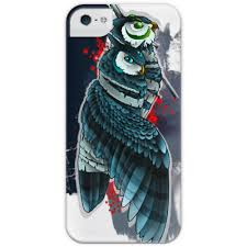 Чехол для iPhone 5 глянцевый, с полной запечаткой Double-<b>owls</b> ...