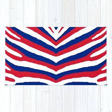 blue zebra rug union jack red white and blue zebra stripes rug blue zebra rug target