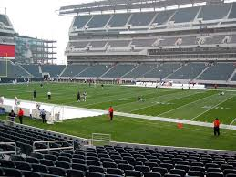 Lincoln Financial Field View From Lower Level 123 Vivid Seats