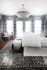 bedroom chandelier ideas. Exellent Bedroom One Room Challenge Master Bedroom Makeover By Hunted Interior  Blue  Shibori Drapery Chandelier To Ideas L
