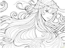 Anime Girls Coloring Pages Anime Coloring Pages Online Anime Girl