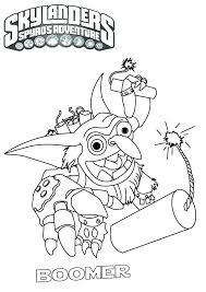 Coloring Pages Of Skylanders Ordinary Printable Coloring Pages