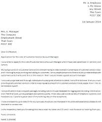 Dear Sir Madam Cover Letter Customer Service Account Manager Cover Letter Example Icover Org Uk