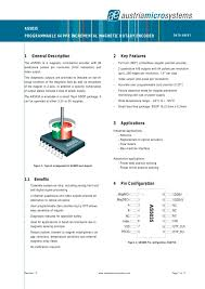 8 bit magnetic rotary encoder incremental outputs ams ag 8 bit magnetic rotary encoder incremental outputs 1 17 pages