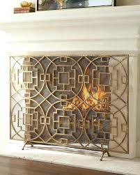 insulated decorative fireplace covers magnetic opening