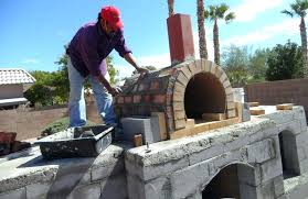 fireplace pizza outdoor fireplace kits with pizza oven outdoor fireplace