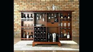 Small bar furniture Narrow Mini Mini Liquor Cabinet Small Bar Furniture Portable Bar Furniture