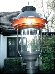 gas post light lamp natural parts outdoor