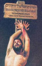 Znalezione obrazy dla zapytania jezus umarł na palu