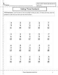 Second grade math worksheets well three digit addition – ideastocker