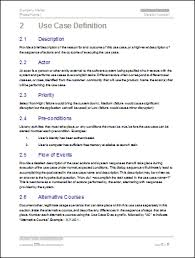 Free Case Template Business Use Case Template Use Case Template 9 Free Word Pdf