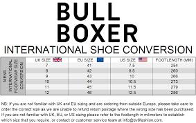 Bullboxer Size Chart Caco Leather Lace Up Shoe 41