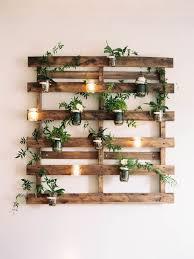 wall pallet garden