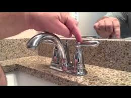 tighten a loose lever on moen brantford faucet