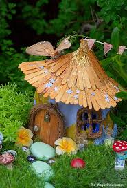 fairy garden images. Interesting Fairy With Fairy Garden Images
