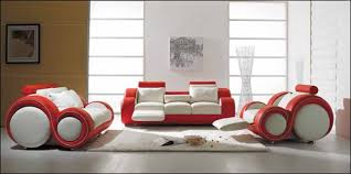 unusual living room furniture. unique living room furniture with red and white leather sofa suite sensational unusual