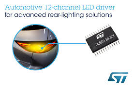 Advanced Lighting For Automotive Flexible 12 Channel Automotive Led Driver Simplifies State