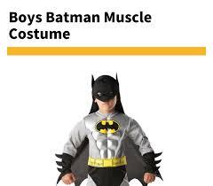 Hot Sale Child Boy Muscle <b>Batman</b> DC Comic <b>Superhero Movie</b> ...