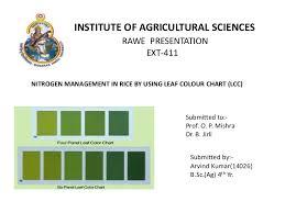 Fall Leaf Color Chart Leaf Color Chart Lcc