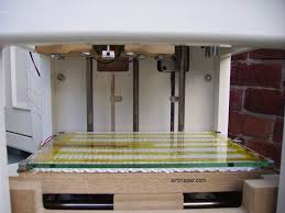 heated build platform from front