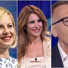 Antonella Elia, Adriana Volpe e Michele Cucuzza al Grande ...