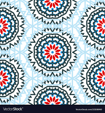 Bohemian Pattern Gorgeous Ethnic Colorful Bohemian Pattern Royalty Free Vector Image