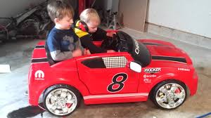 dodge charger on air ride power wheels