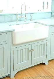 old kitchen sinks antique cast iron porcelain farm sink left