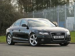 black audi a4. used audi a4 2008 black saloon diesel manual for sale 9