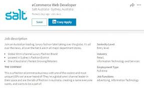 Ecommerce Job Descriptions Entry Level Job Advertised Requiring 10 Years Experience Daily