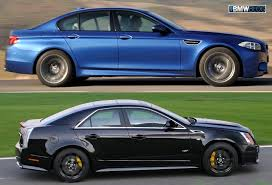 Coupe Series bmw m3 vs m5 : BMWBLOG Comparison Test: 2012 BMW M5 vs 2012 Cadillac CTS-V